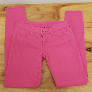 ❤AMERICAN EAGLE OUTFITTERS PINK SKINNY JEANS, 2
